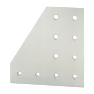 80/20 10 Hole - 90 Degree Angled Flat Plate