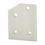 80/20 4 Hole - 30 Degree Angled Flat Plate