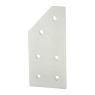 80/20 6 Hole - 45 Degree Angled Flat Plate | CPI Automation