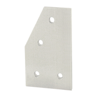 80/20 4 Hole - 60 Degree Angled Flat Plate