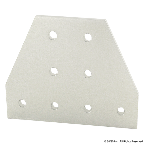 80/20 4355 8 Hole - Tee Flat Plate | CPI Automation Ltd.