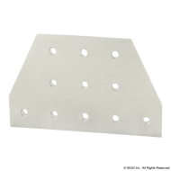 80/20 4421 8 Hole - Tee Flat Plate | CPI Automation Ltd.