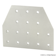 80/20 4312 16 Hole - Tee Flat Plate | CPI Automation Ltd.