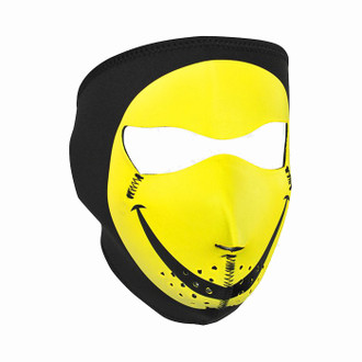 Neoprene All-Season Full Face Mask - Smiley Face