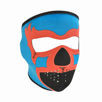 Neoprene All-Season Full Face Mask - Lucha Libre