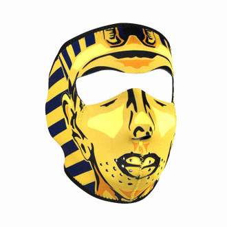 Neoprene All-Season Full Face Mask - King Tut
