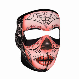 Neoprene All-Season Full Face Mask - Sugar Skull