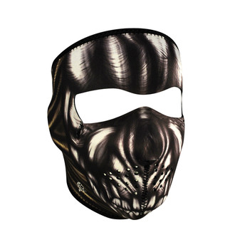 Neoprene All-Season Full Face Mask - Ancient Skull