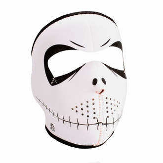 Neoprene All-Season Full Face Mask - Skelly Pumpkin