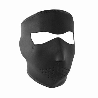 Neoprene All-Season Full Face Mask - Black