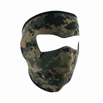 Neoprene All-Season Full Face Mask - USMC MARPAT Camo