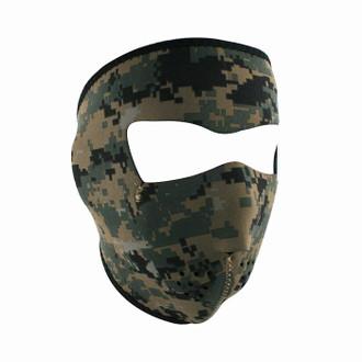 Neoprene All-Season Full Face Mask - USMC MARPAT Camo