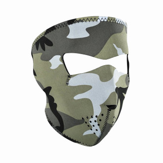 Neoprene All-Season Full Face Mask - Urban Camo