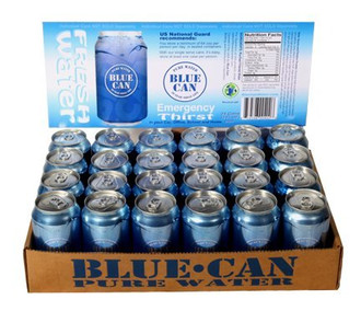 Blue Can Water 3 Case Bundle (72 Individual Cans)