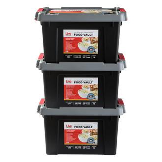 Live Prepared Emergency  Food Vault - 360 Servings