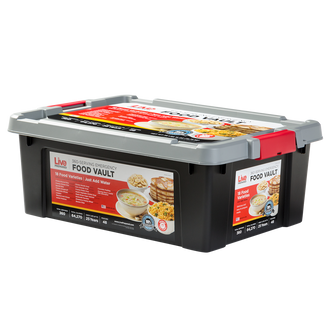 Live Prepared Max Variety  Emergency Food Vault  - 360 Servings