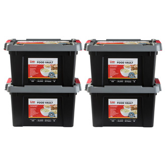 Live Prepared Emergency  Food Vault - 480 Servings