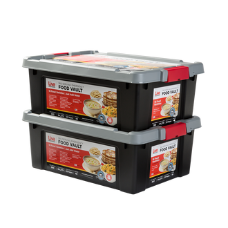 Live Prepared Max Variety  Emergency Food Vault  - 720 Servings