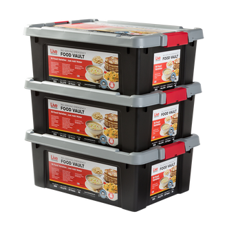 Live Prepared Max Variety  Emergency Food Vault  - 1,080 Servings