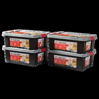 Live Prepared Max Variety  Emergency Food Vault  - 1,440 Servings