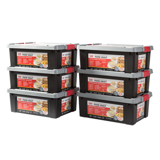 Live Prepared Max Variety  Emergency Food Vault  - 2,160 Servings