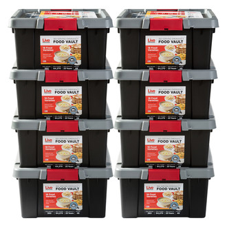 Live Prepared Max Variety  Emergency Food Vault  - 2,880 Servings
