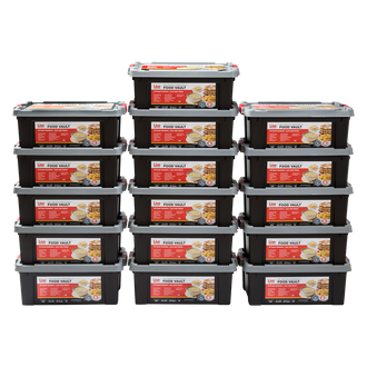 Live Prepared Max Variety  Emergency Food Vault  - 5,760 Servings