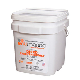 NuManna Diced Chicken Bucket