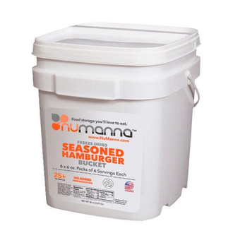 NuManna Ground Beef Bucket