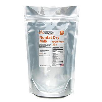 NuManna Hormone-Free USDA Non-Fat Milk Powder Pouch