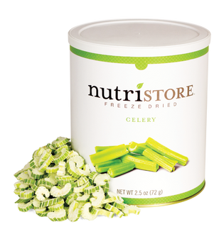 Nutristore Celery - Freeze Dried