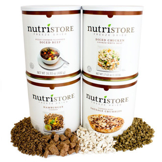 Nutristore™  Deluxe Meat Variety Kit