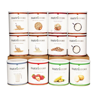 Nutristore™ 1 Month Food Supply