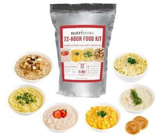 Nutristore™ 72 Hour Emergency Meal Kit