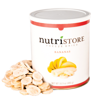 Nutristore™ Bananas - Freeze Dried