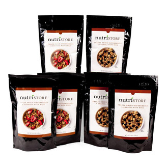 Nutristore™ Breakfast Granola Variety Pack