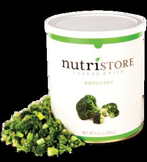 Nutristore™ Broccoli - Freeze Dried