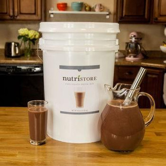 Nutristore™ Chocolate Milk Drink Mix Bucket