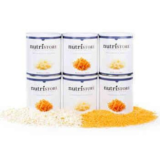 Nutristore™ Freeze Dried Cheese Variety 6 Pack