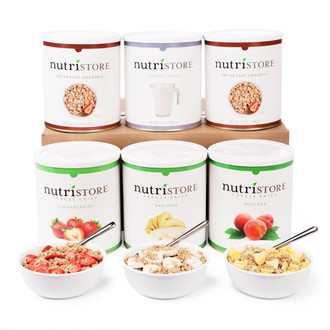 Nutristore™ Fruit & Granola Breakfast Kit