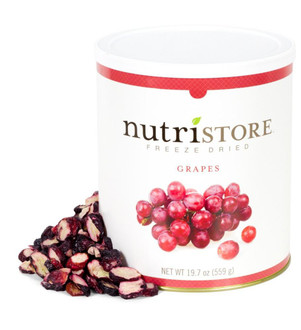 Nutristore™ Grapes-Freeze Dried