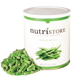 Nutristore™ Green Beans - Freeze Dried