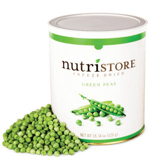 Nutristore™ Green Peas - Freeze Dried