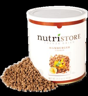 Nutristore™ Hamburger - Freeze Dried