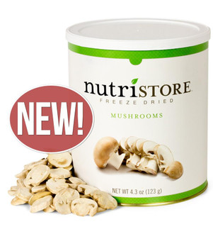 Nutristore™ Mushrooms-Freeze Dried