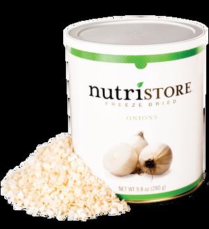 Nutristore™ Onions - Freeze Dried