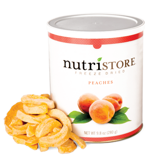 Nutristore™ Peaches - Freeze Dried