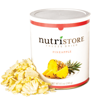 Nutristore™ Pineapple - Freeze Dried