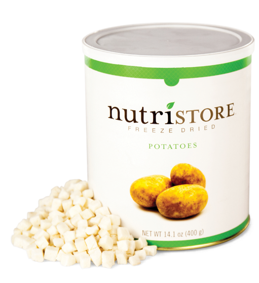 Nutristore™ Potatoes - Freeze Dried