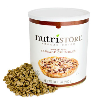 Nutristore™ Sausage Crumbles-Freeze Dried